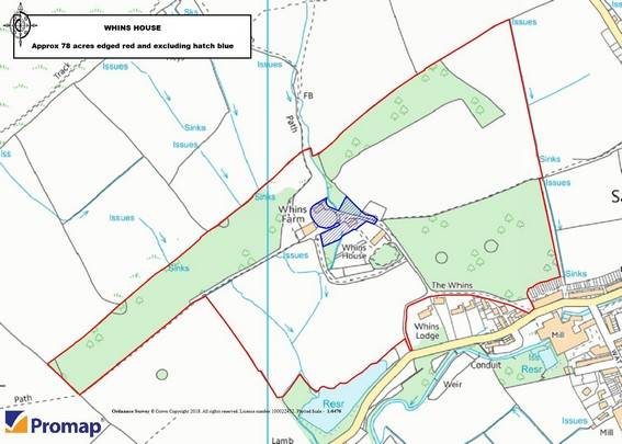 Whins House Boundary Plan